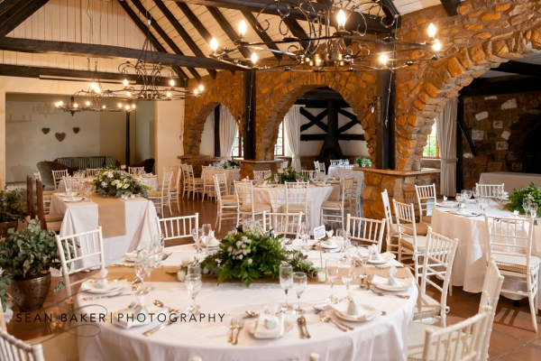 Its White Roof And Walls Offer A Blank Canvas On Which You Can Create Your Dream Wedding Reception